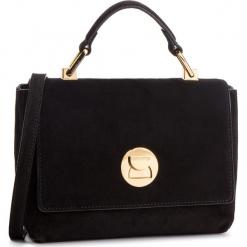 Torebka COCCINELLE - DD1 Liya Suede E1 DD1 58 40 01 Noir/Noir. Czarne torebki do ręki damskie Coccinelle, ze skóry. Za 1,149.90 zł.