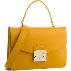 Torebka FURLA - Metropolis 978125 B BLE8 ARE Ginestra e. Żółte torebki do ręki damskie Furla, ze skóry. Za 1,470.00 zł.