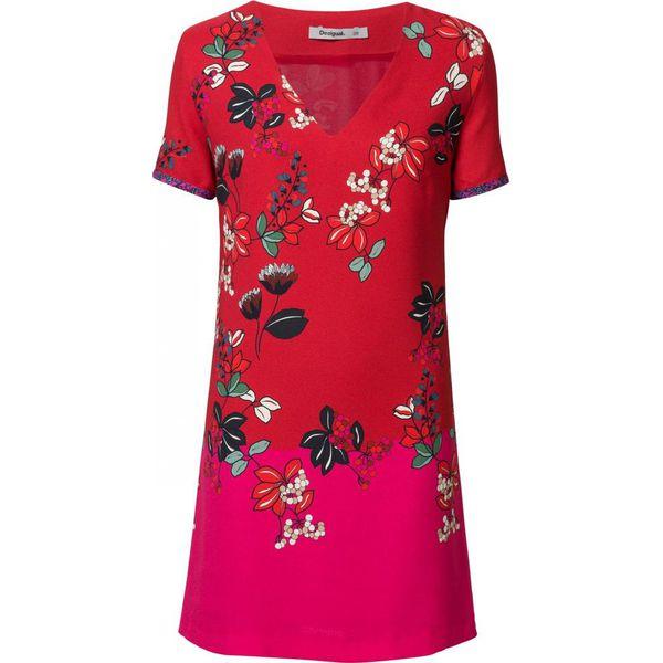 Desigual sukienka damska Vest Debrecen 36 czerwona