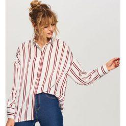 Koszula w paski - Wielobarwn. Szare koszule damskie Reserved, w paski. W wyprzedaży za 59.99 zł.