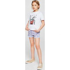 Mango Kids - Szorty dziecięce Seventy 110-164 cm. Spodenki dla dziewczynek marki bonprix. W wyprzedaży za 49.90 zł.