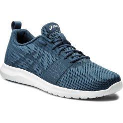 Buty ASICS - Kanmei Mx T849N  Dark Blue/White 4949. Niebieskie buty sportowe męskie Asics, z materiału. W wyprzedaży za 189.00 zł.