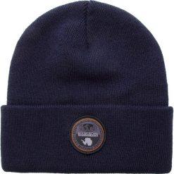 Czapka NAPAPIJRI - Fulton N0YHXW Blue Marine 176. Niebieskie czapki i kapelusze męskie Napapijri. W wyprzedaży za 139.00 zł.