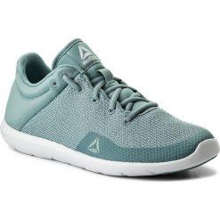 Buty Reebok - Studio Basics CN0727 Whisper Teal/White. Niebieskie obuwie sportowe damskie Reebok, z materiału. W wyprzedaży za 179.00 zł.