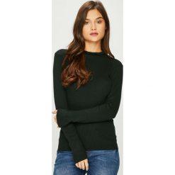 Jacqueline de Yong - Sweter. Czarne swetry damskie Jacqueline de Yong, z dzianiny. W wyprzedaży za 69.90 zł.