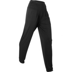 """Spodnie haremki """"wellness"""", długie, Level 1 bonprix czarny. Spodnie materiałowe damskie marki Nike. Za 74.99 zł."""