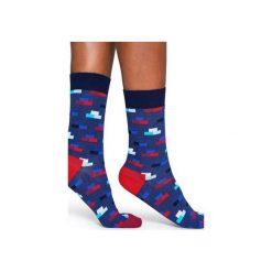Skarpetki Happy Socks  BRI01-6000. Szare skarpety męskie Happy Socks, z bawełny. Za 24.43 zł.