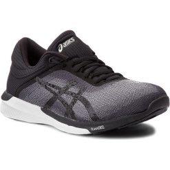 Buty ASICS - FuzeX Rush T768N Midgrey/Black/White 9690. Czarne obuwie sportowe damskie Asics, z materiału. W wyprzedaży za 329.00 zł.