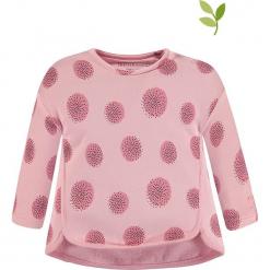 Bluza w kolorze jasnoróżowym. Czerwone bluzy dla dziewczynek bellybutton, z bawełny. W wyprzedaży za 42.95 zł.