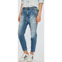 Diesel - Jeansy Fayza-Evo. Niebieskie jeansy damskie Diesel. W wyprzedaży za 649.90 zł.