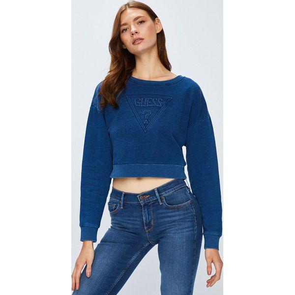 ce62d6105628c Guess Jeans - Bluza - Bluzy damskie marki Guess Jeans. W wyprzedaży ...