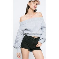 Missguided - Bluza by Jourdan Dunn. Szare bluzy damskie Missguided, z bawełny. W wyprzedaży za 89.90 zł.