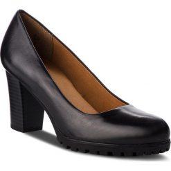 Półbuty CAPRICE - 9-22406-21 Black Nappa 022. Czarne półbuty damskie Caprice, ze skóry ekologicznej. W wyprzedaży za 189.00 zł.