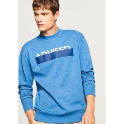 Bluza z nadrukiem - Niebieski. Bluzy damskie marki Reserved. W wyprzedaży za 59.99 zł.