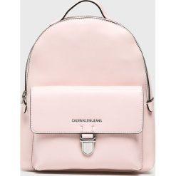 Calvin Klein Jeans - Plecak. Szare plecaki damskie Calvin Klein Jeans, z jeansu. Za 629.90 zł.