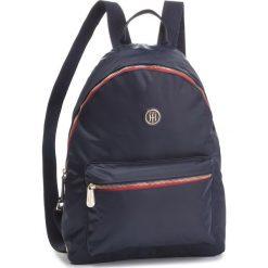 Plecak TOMMY HILFIGER - Poppy Backpack AW0AW05660  413. Niebieskie plecaki damskie Tommy Hilfiger, z materiału. Za 399.00 zł.