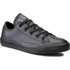 Trampki CONVERSE - Ct As Ox 135253C Black/Mono. Czarne trampki męskie Converse, z materiału. W wyprzedaży za 269.00 zł.