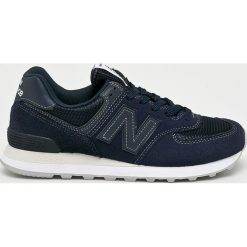 New Balance - Buty ML574ETB. Czarne buty sportowe męskie New Balance, z materiału. W wyprzedaży za 269.91 zł.