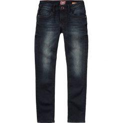 """Dżinsy """"Evita"""" - Slim fit - w kolorze granatowym. Jeansy dla dziewczynek marki bonprix. W wyprzedaży za 99.95 zł."""