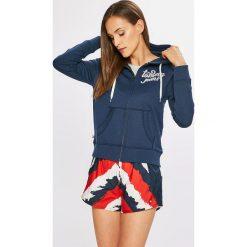 Tommy Jeans - Bluza. Szare bluzy damskie Tommy Jeans, z bawełny. W wyprzedaży za 319.90 zł.