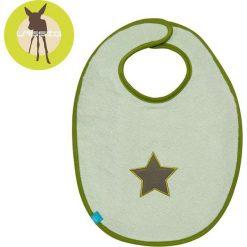 Śliniak bawełniany wodoodporny  Starlight olive 6-24m (LTEXBM069). Zielone śliniaki dla dzieci Lassig, z bawełny. Za 54.29 zł.