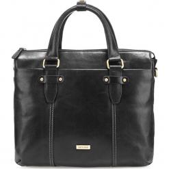 Torba na laptopa 85-3U-513-1. Czarne torby na laptopa męskie Wittchen, w paski. Za 539.00 zł.