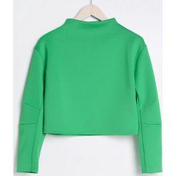 Krótka bluza ze stójką - Zielony. Bluzy damskie marki KALENJI. W wyprzedaży za 29.99 zł.