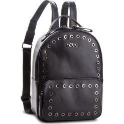 Plecak NOBO - NBAG-F2340-C020 Czarny. Czarne plecaki damskie Nobo, ze skóry ekologicznej, eleganckie. W wyprzedaży za 169.00 zł.