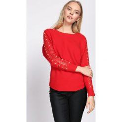 Czerwony Sweter Incubus. Czerwone swetry damskie Born2be, na jesień. Za 64.99 zł.