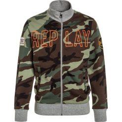 Replay Bluza rozpinana grey melange. Bluzy dla dziewczynek Replay, z bawełny. Za 369.00 zł.