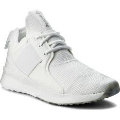 Buty Reebok - Guresu 1.0 CM8878 White/Black/Matte Silver. Białe obuwie sportowe damskie Reebok, z materiału. W wyprzedaży za 229.00 zł.