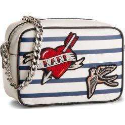 Torebka KARL LAGERFELD - 81KW3080 Stripes. Białe torebki do ręki damskie KARL LAGERFELD, ze skóry. W wyprzedaży za 609.00 zł.