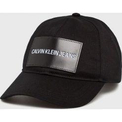 Calvin Klein Jeans - Czapka. Czarne czapki i kapelusze damskie Calvin Klein Jeans, z bawełny. Za 159.90 zł.