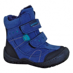 Protetika Buty Zimowe Za Kostkę Chłopięce Laros 24 Niebieski. Buty zimowe chłopięce marki Geox. Za 175.00 zł.