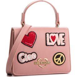 Torebka LOVE MOSCHINO - JC4084PP17LJ0600 Rosa. Czerwone torebki do ręki damskie Love Moschino, ze skóry ekologicznej. Za 799.00 zł.