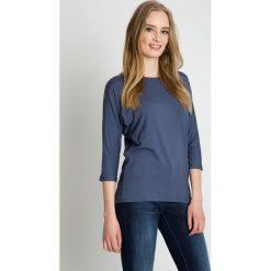 Szara bluzka z długim rękawem BIALCON. Szare bluzki damskie BIALCON, eleganckie, z długim rękawem. Za 95.00 zł.