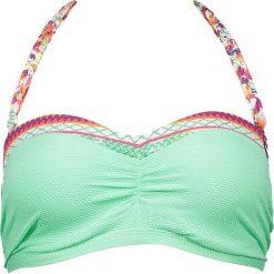 """Biustonosz bikini """"Saltimbocca"""" w kolorze miętowym ze wzorem. Biustonosze Brunotti, w paski. W wyprzedaży za 65.95 zł."""