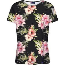 Colour Pleasure Koszulka damska CP-030 159 czarno-różowa r. XXXL/XXXXL. T-shirty damskie Colour Pleasure. Za 70.35 zł.