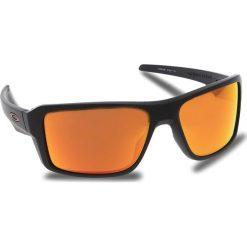 Okulary przeciwsłoneczne OAKLEY - Double Edge OO9380-0566 Matte Black/Prizm Ruby Polarized. Czarne okulary przeciwsłoneczne męskie Oakley, z tworzywa sztucznego. W wyprzedaży za 679.00 zł.