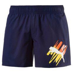 Puma Spodenki Style Summer Big Cat Shorts Peacoat M. Niebieskie krótkie spodenki sportowe męskie Puma. W wyprzedaży za 99.00 zł.