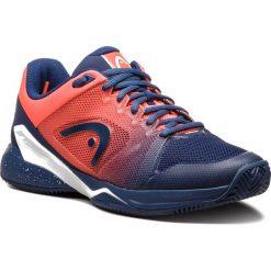 Buty HEAD - Revolt Pro 2.5 Clay 273018 Blue/Flame Orange 065. Niebieskie buty sportowe męskie Head, z materiału. Za 559.00 zł.