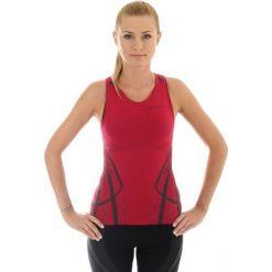 Brubeck Koszulka damska Fitness W bordowa r. S (TA10150). Bluzki damskie Brubeck. Za 84.99 zł.