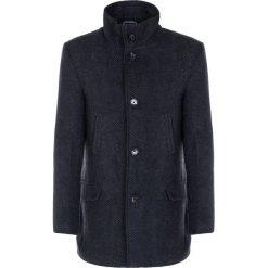 Płaszcz AMBROGIO PSGS000076. Brązowe płaszcze męskie Giacomo Conti, na jesień, z wełny, eleganckie. Za 699.00 zł.