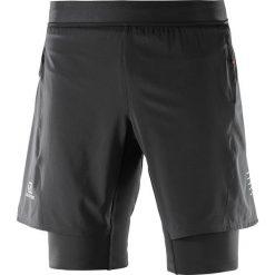 Salomon Spodenki męskie FAST WING TWINSKIN SHORT M Black r. XL. Spodnie sportowe męskie Salomon. Za 242.90 zł.