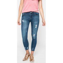 Answear - Jeansy Blossom Mood. Niebieskie jeansy damskie ANSWEAR. W wyprzedaży za 89.90 zł.