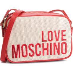Torebka LOVE MOSCHINO - JC4153PP17LO0107 Naturale. Brązowe listonoszki damskie Love Moschino, z materiału. Za 589.00 zł.