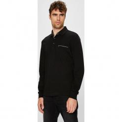 Pierre Cardin - Longsleeve. Czarne bluzki z długim rękawem męskie Pierre Cardin, z bawełny, polo. W wyprzedaży za 219.90 zł.