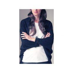 Wdzianko czarne sweter. Czarne swetry damskie One mug a day. Za 149.00 zł.