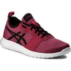 Buty ASICS - Kanmei Gs C745N Cosmo PInk/Black/Plune 2090. Czerwone obuwie sportowe damskie Asics, z materiału. W wyprzedaży za 159.00 zł.