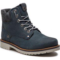 Trapery WRANGLER - Yuma Lady WL182507 Jeans 118. Niebieskie śniegowce i trapery damskie Wrangler, z jeansu. W wyprzedaży za 279.00 zł.